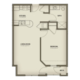 Floor Plans - 1 Bedroom