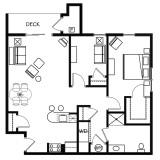 Floor Plans - 2 Bedroom