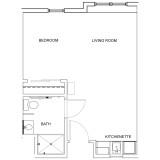 Floor Plans - Studio