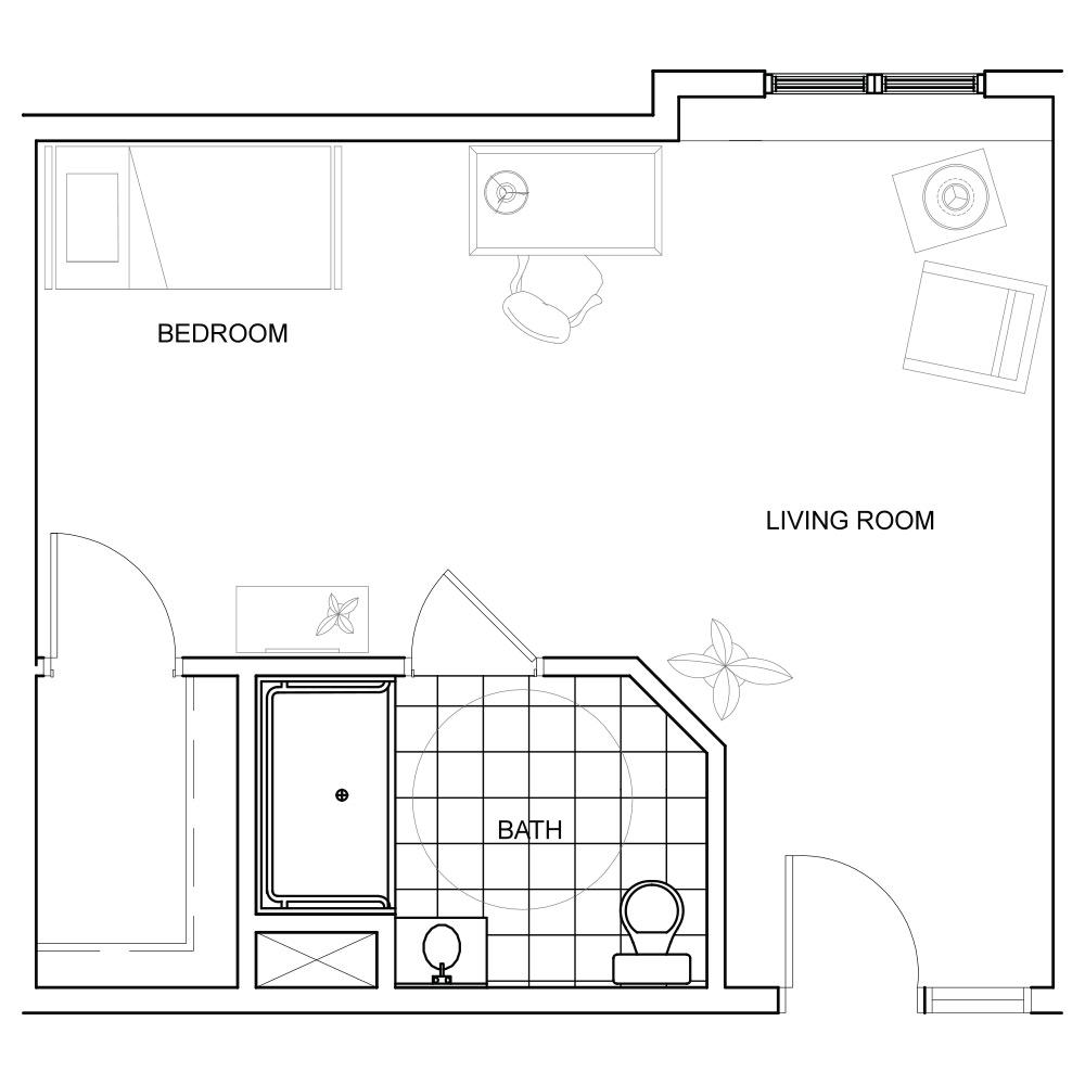 Barrier Free Bathroom Floor Plans - Thedancingparent.com